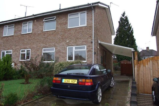 Thumbnail Property to rent in Edgecote Close, Rugby