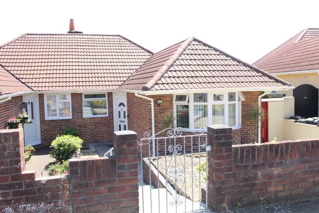 Thumbnail Semi-detached bungalow for sale in Moor Lane, St Budeaux, Plymouth