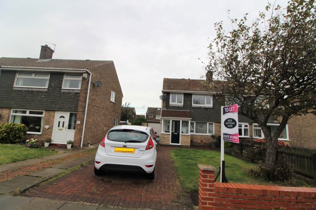 Thumbnail Semi-detached house to rent in Albatross Way, Blyth