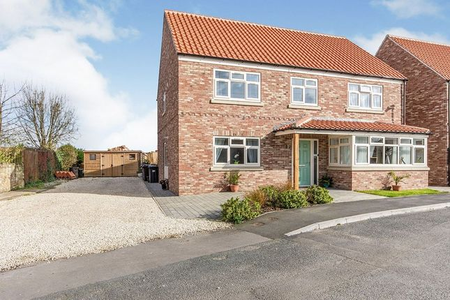 Thumbnail Detached house for sale in St. Marys Approach, Hambleton, Selby
