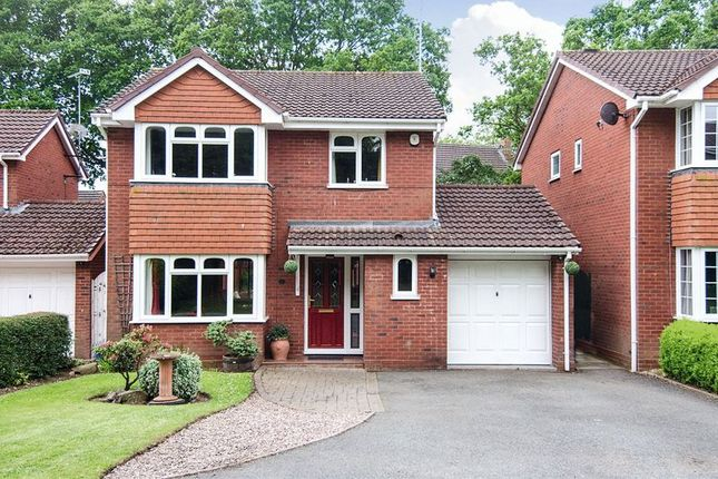 Thumbnail Detached house for sale in Wilkinson Close, Hunslet, Burntwood