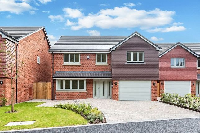 Thumbnail Detached house for sale in Lyndale Grove, Somerford, Congleton