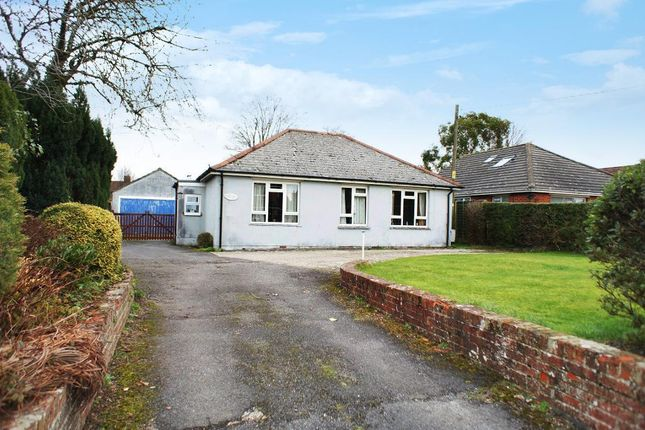 Thumbnail Bungalow for sale in Hill Road, Oakley, Hants