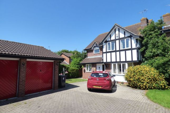 Thumbnail Detached house for sale in Gorse Close, Abbeymead, Gloucester