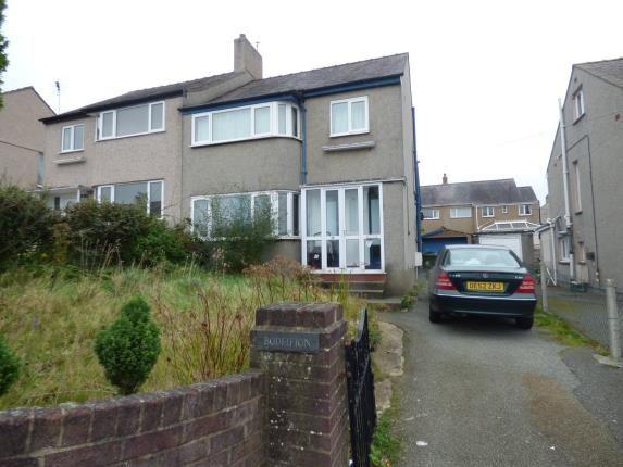 Thumbnail Semi-detached house for sale in Belmont Road, Bangor, Gwynedd
