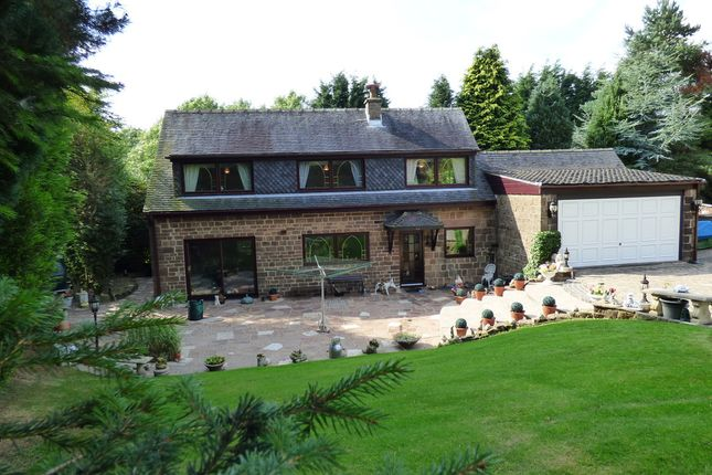 Thumbnail Detached house for sale in Basford, Leek