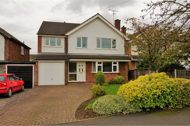 Thumbnail Detached house for sale in Park Avenue, Markfield