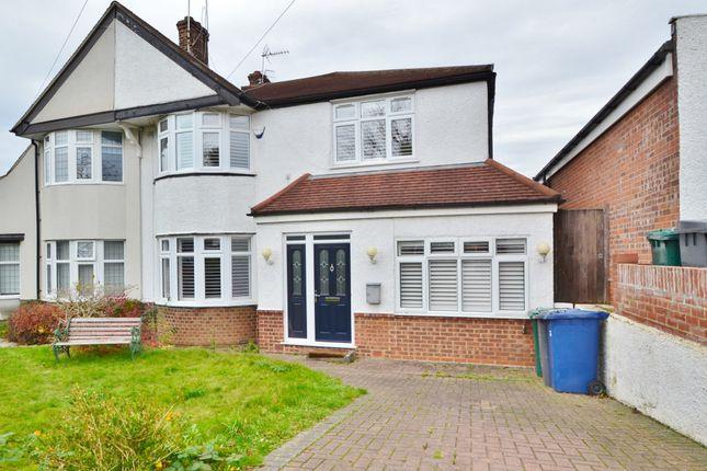 Thumbnail Semi-detached house for sale in Gallants Farm Road, East Barnet