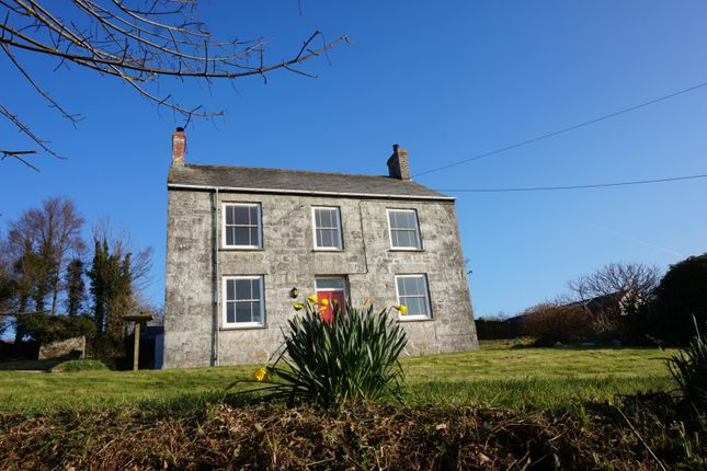 Thumbnail Detached house for sale in Grampound Road, Truro