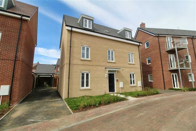 Thumbnail Detached house for sale in The Hedgerows, Willow Lake, Milton Keynes