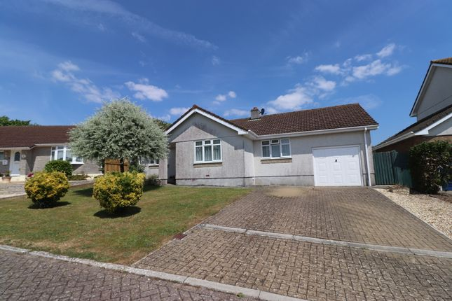 Thumbnail Detached bungalow for sale in Camperknowle Close, Millbrook, Torpoint