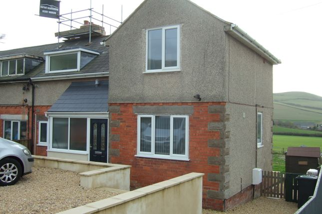 Thumbnail Semi-detached house to rent in Chideock, Bridport, Dorset