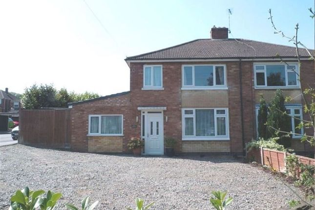 Thumbnail Semi-detached house to rent in Addison Road, Bilton, Rugby