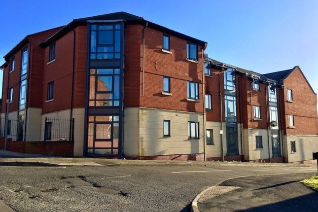 Thumbnail Flat to rent in Paulfield Court, Old Market Place, Meadow Lane, Newhall, Swadlincote