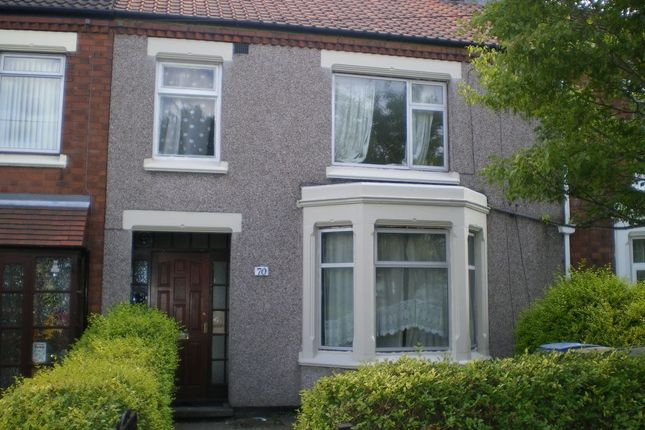 Thumbnail Terraced house to rent in Dane Road, Stoke, Coventry