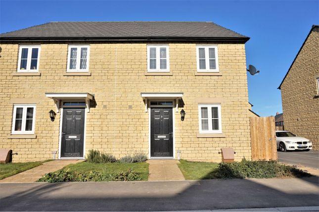 Thumbnail Semi-detached house for sale in Tumbler Way, Carterton