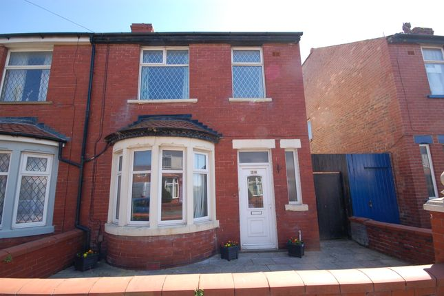 3 bed semi-detached house for sale in Silverwood Avenue, Blackpool
