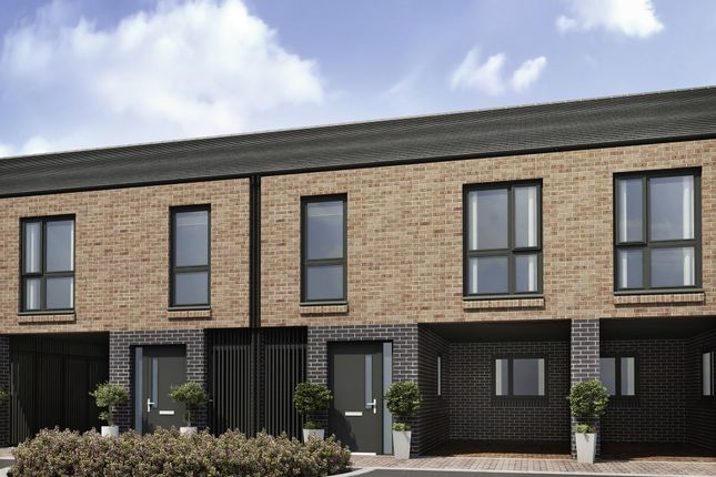 "Thumbnail Terraced house for sale in ""The Lea"" at Brunel Street, Bensham, Gateshead"