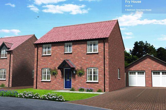Thumbnail Detached house for sale in Plot 8, Little Snoring, Norfolk