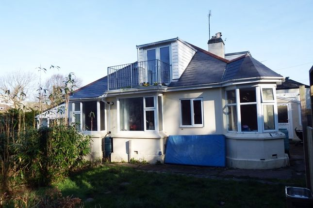 Thumbnail Semi-detached bungalow for sale in Perrancoombe, Perranporth