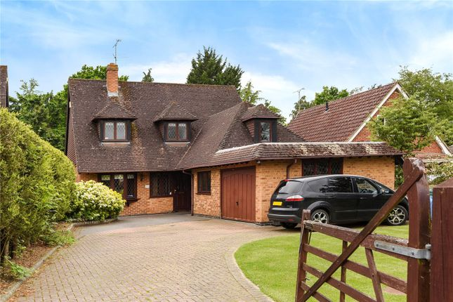 Thumbnail Detached House For Sale In Nash Grove Lane Finchampstead Wokingham Berkshire
