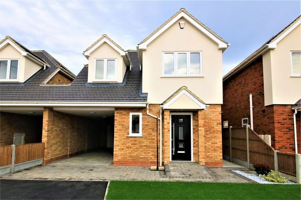 Thumbnail Semi-detached house for sale in Corona Road, Canvey Island, Essex