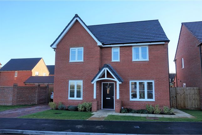 Thumbnail Detached house for sale in Barley Fields, Stratford Upon Avon, Long Marston