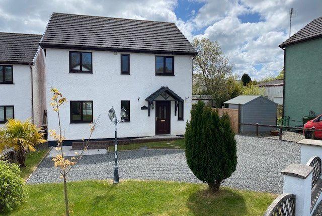 4 bed detached house for sale in Maes Dafydd, Llanarth SA47
