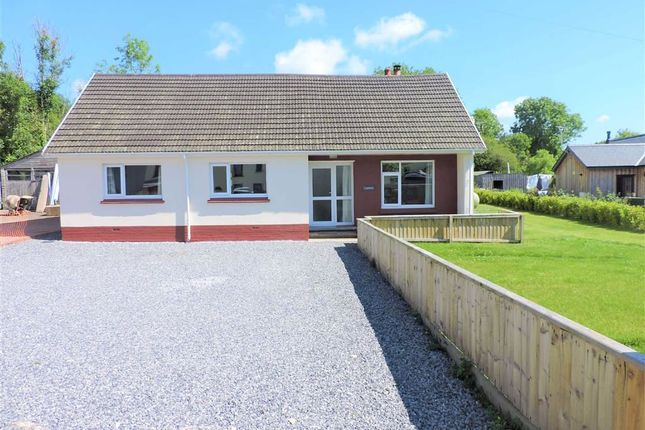 Thumbnail Detached bungalow for sale in Llanfallteg, Whitland, Carmarthenshire