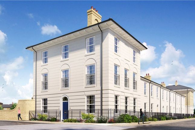 Thumbnail End terrace house for sale in Coade Street, Poundbury, Dorchester, Dorset