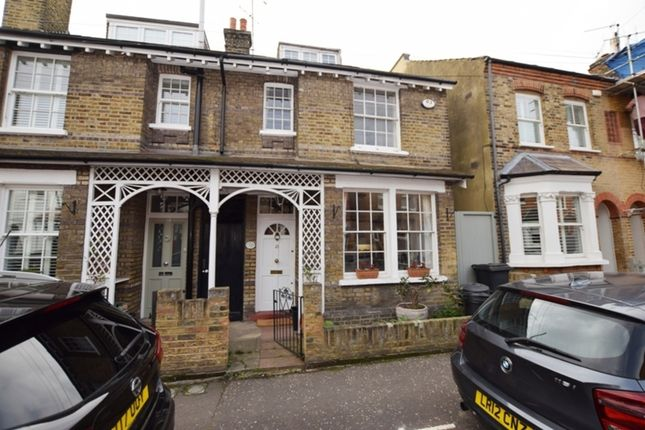Thumbnail End terrace house for sale in Windsor Road, Kew, Richmond, Surrey