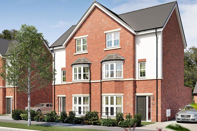 "Thumbnail Semi-detached house for sale in ""The Mowbury"" at Elms Way, Yarm"