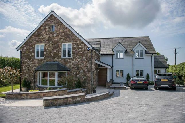 Thumbnail Detached house for sale in Dunvant Road, Three Crosses, Swansea
