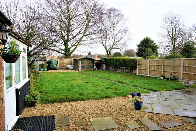 Rear Garden of Lyndhurst Avenue, Ipswich IP4