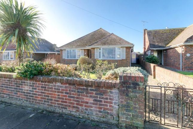 Thumbnail Detached bungalow for sale in Fairview Avenue, Goring-By-Sea, Worthing