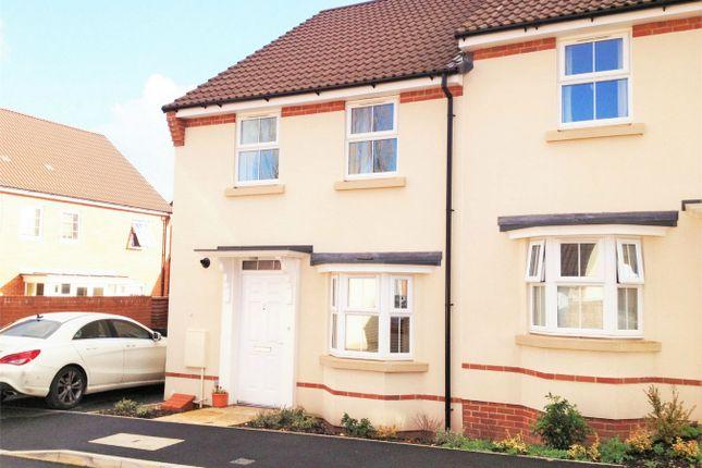 Thumbnail Semi-detached house to rent in Collett Road, Norton Fitzwarren, Taunton