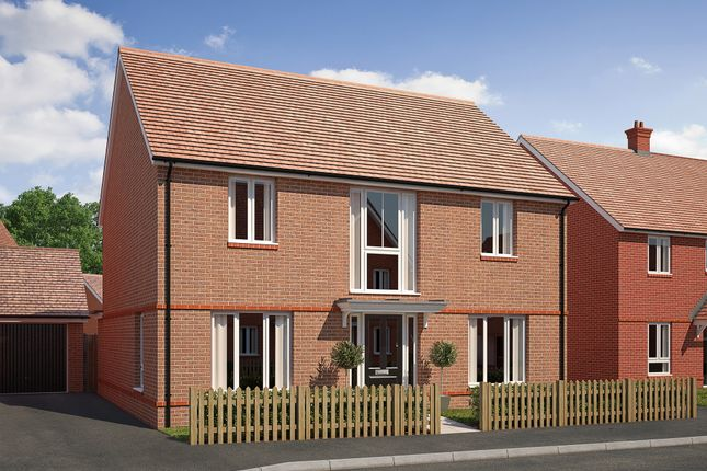 """4 bedroom detached house for sale in """"The Cresswell"""" at Saunders Way, Basingstoke"""