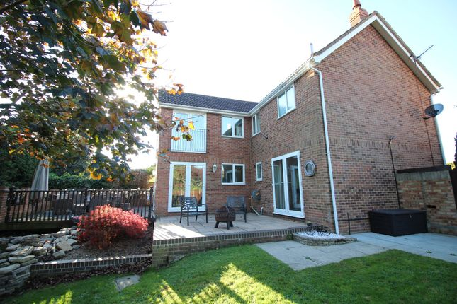 Thumbnail Detached house for sale in Hawker Close, Wimborne