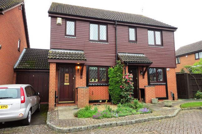 Thumbnail Semi-detached house to rent in Windmill Field, Windlesham