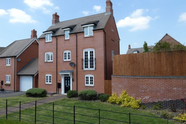 Thumbnail Detached house for sale in Cranfield Avenue, Church Gresley