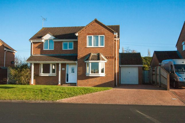 Thumbnail Detached house for sale in Marlowe Way, Royal Wootton Bassett, Swindon