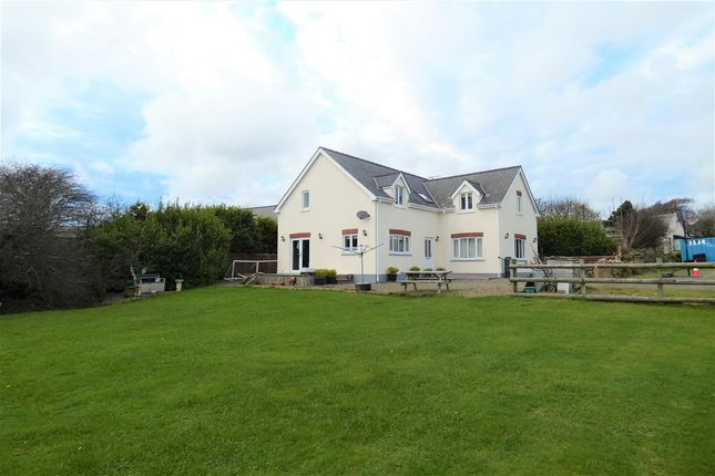 4 bed detached house for sale in Ty Nant, Trefgarn Owen, Haverfordwest SA62