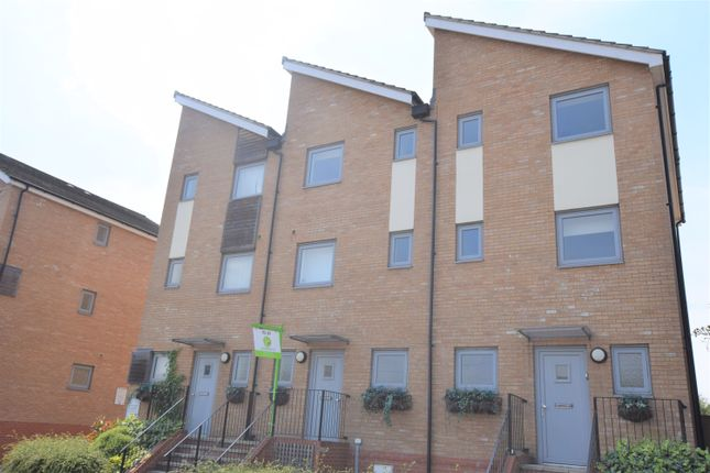 Thumbnail Town house to rent in Heia Wharf, Hawkins Road, Colchester, Essex