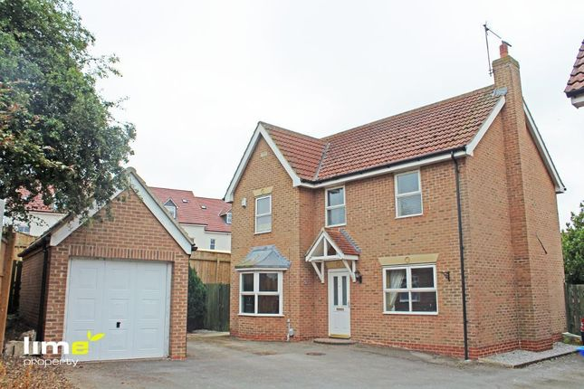 Thumbnail Detached house to rent in Chapel Fields, Coniston, Hull