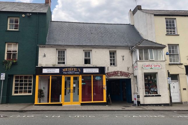Thumbnail Retail premises for sale in Pembroke, Pembrokeshire
