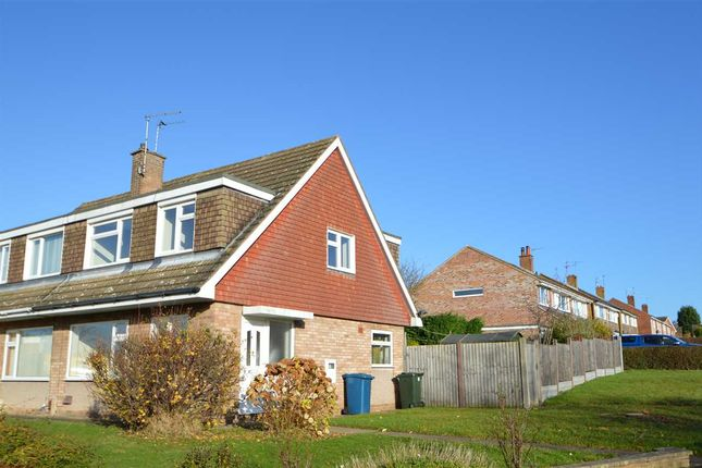 Thumbnail 3 bed semi-detached house to rent in Mount Pleasant, Keyworth, Nottingham