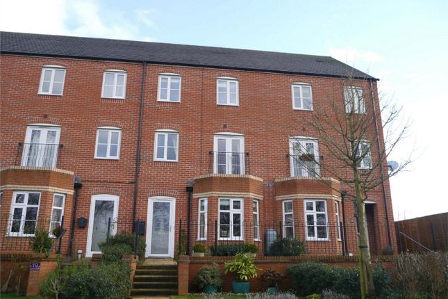 Thumbnail Town house for sale in Melrose Walk, Rosefields, Tewkesbury, Gloucestershire