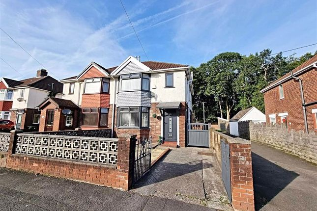 Thumbnail Semi-detached house for sale in Hawthorn Crescent, Pontypridd