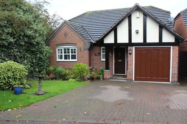 Thumbnail Detached bungalow for sale in Parsons Hollow, Wilnecote, Tamworth