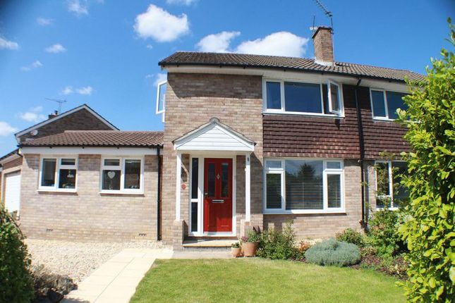 Thumbnail Semi-detached house for sale in Woodlands Close, Sarisbury Green, Southampton